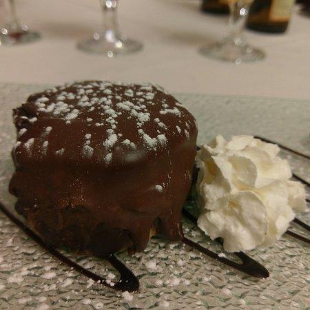 Lomazzo, Italien: Tortino morbido al cioccolato e cedro