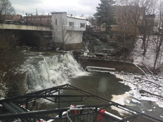 Chagrin Falls, OH: Great view!