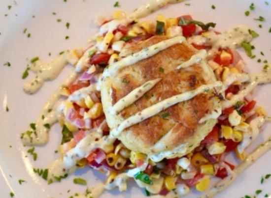 Lantana, Φλόριντα: delicious crab cakes