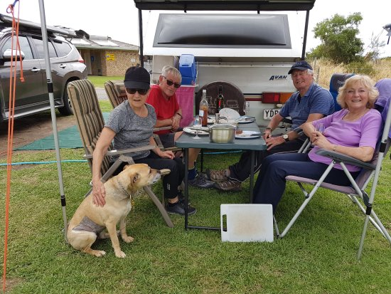 Jetty Caravan Park Normanville: Well mannered like Elsa are welcome anytime
