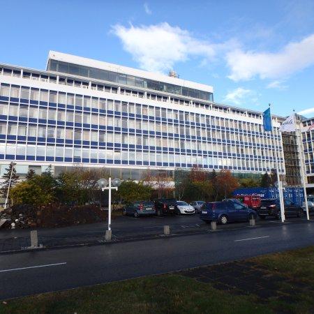 Radisson Blu Saga Hotel : Under construction