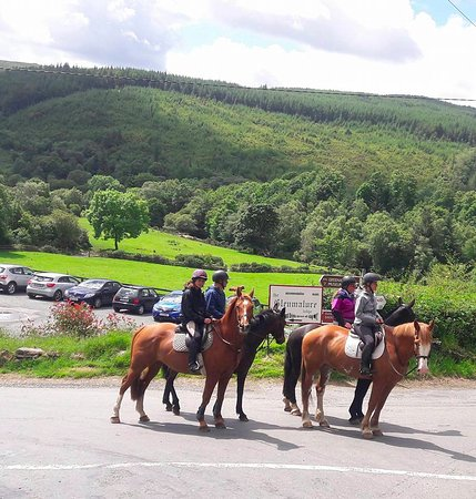 Glenealy, Irlanda: Heading off to adventure around glenmalure