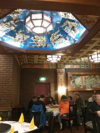 Dynasty Chinese Restaurant: Inside