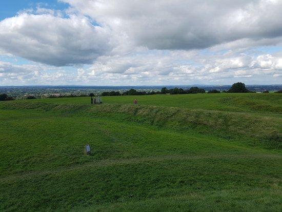 Navan, Ireland: One of the views atop The Hill Of Tara.