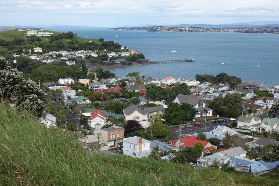 Devonport, New Zealand: Outlook from the mountain