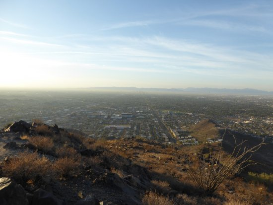 Phoenix Mountain Preserve: View