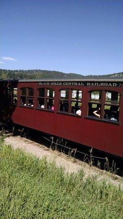 Hill City, Южная Дакота: 1880's train coach