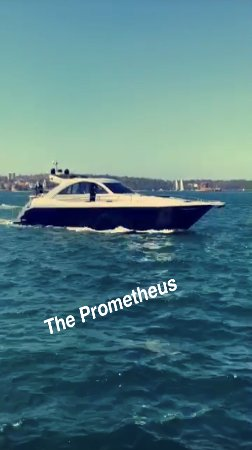 Rose Bay, Austrália: Prometheus arriving to pick us up