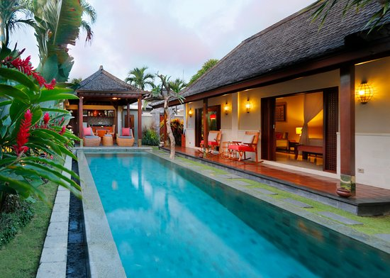 The Ulin Villas & Spa: One Bedroom Pool Villas - 300 square meters luxury living space, Eco-filtered private pool and m