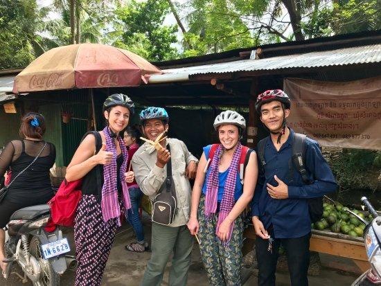 Thank Virginie Barres for choosing Nature Tour Battambang