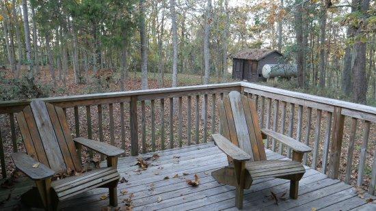 Bristol, FL: Chairs on back porch
