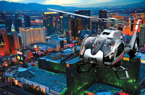 Helikoptertur over Las Vegas Strip om...