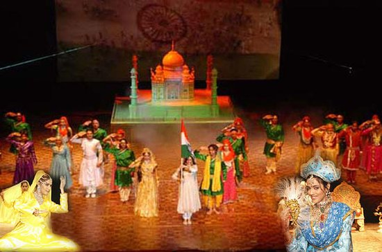 Agra Mohabbat The Taj Show and Dinner