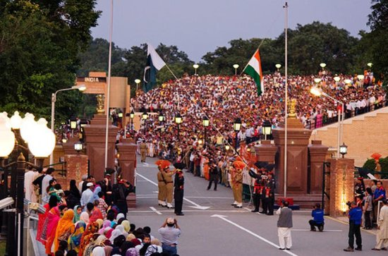 Wagah Border Beating Retreat Ceremony...