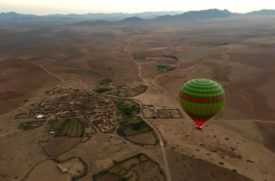Marrakech Hot Air Balloon Sunrise...