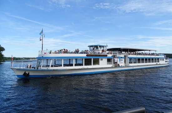 Wannsee to Potsdam: Boat Cruise