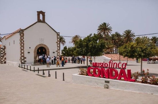 Visit Finca Condal Museum at Juan...