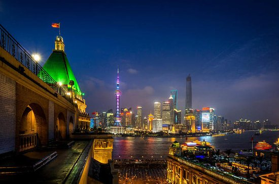 Private Shanghai Riverside Night Walk including Bund & ferry to...