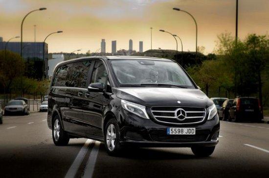 Departure Private Transfer Zurich to Zurich Airport ZRH in Luxury Van