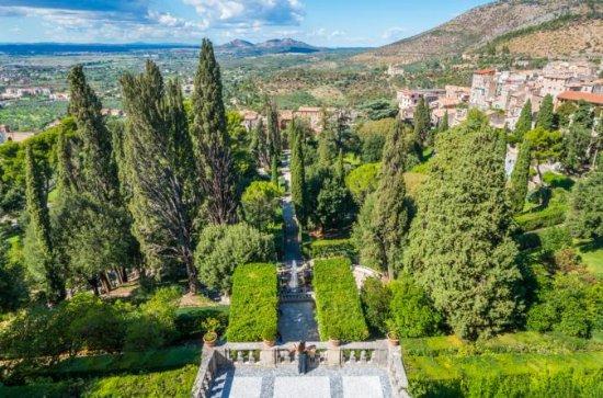 Tivoli, Hadrians Villa and Villa...