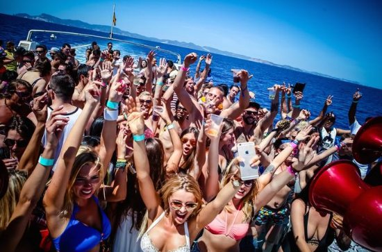 CDLN Ibiza Boat Party mit ...