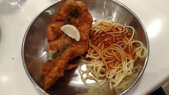 Fish Spaghetti With Spicy Sauce Picture Of Fish Wow
