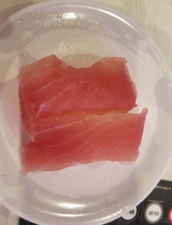 Genki Sushi Hawaii Incorporated: How old is this ahi (raw tuna)?