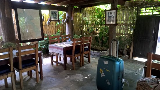 Lao Lu Lodge: Terrasse