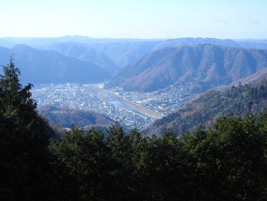 備中松山城展望台