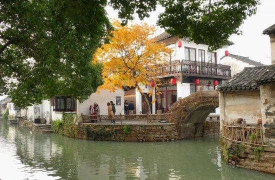 Kunshan, China: Zhouzhuang Water Town, San Yuan Restaurant