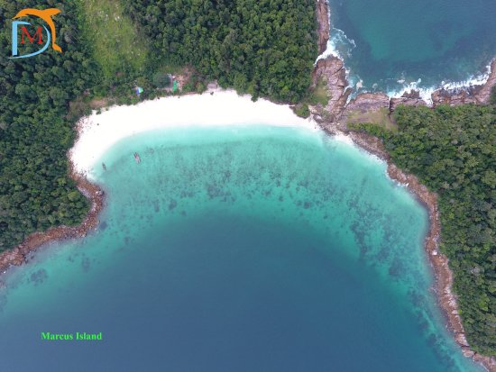 Myeik (Mergui) Archipelago, Birmania: Marcus Island (or) Lay Kyun (or) Harris Island