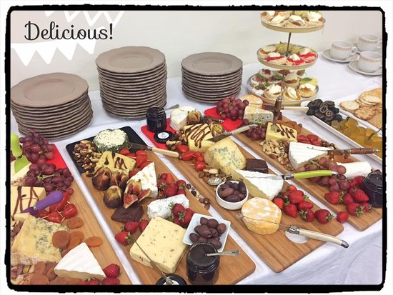 cheese platters picture of suffoir winery brewery macarthur