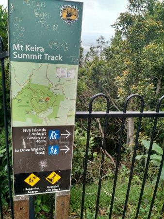 Wollongong, Australia: Mt Keira Summit Track