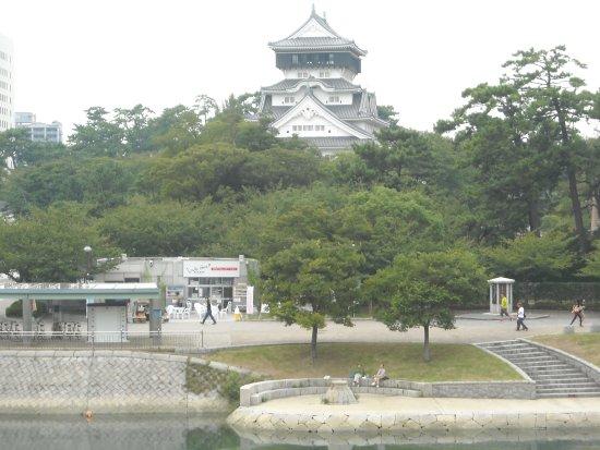 La Paperina: 小倉城の正面に位置する景観に良さ