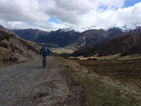 Hanmer Springs, Nueva Zelanda: Going down Maling Pass