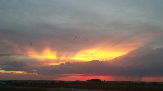Farson, WY: sunsets from viewing area