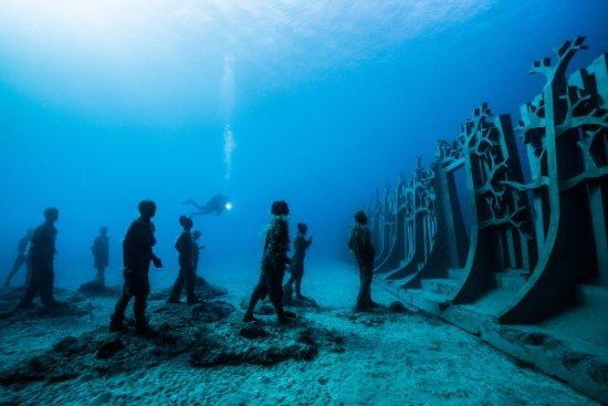 Museo Atlantico Underwater Museum