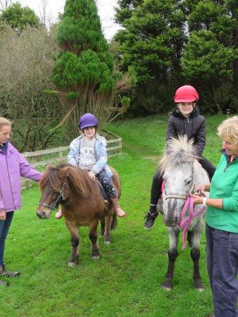 St Columb Major, UK: Pony Rides - yeay!