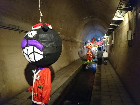 Takamori-machi, Japonya: 内部にはこのような飾りがあって楽しめます。