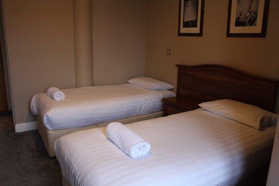 Metropole hotel: 案内されて実際に泊まった部屋はツイン。