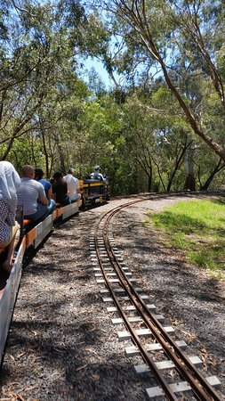Box Hill, Australië: Miniature steam railway