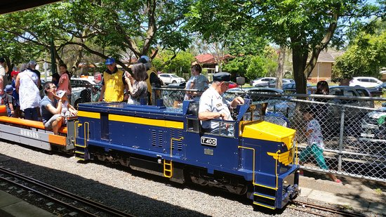 The Box Hill Miniature Steam Railway