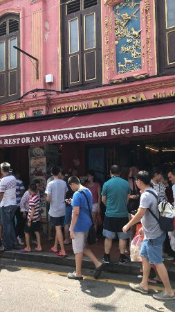 Famosa Chicken Rice Ball Restaurant: The shop