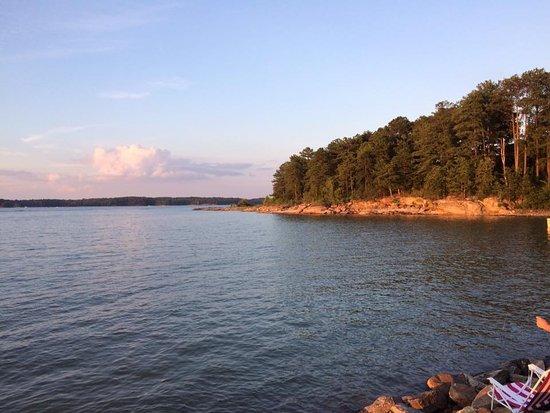 Atlanta, GA: Lake Lenier's Peaceful Sunset