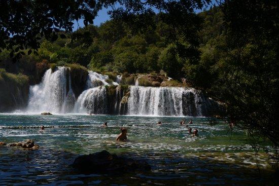 Sibenik-Knin County, Croatia: Vesiputoukset.
