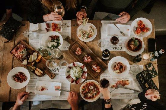 Baarn, Belanda: diner