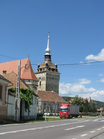 Saschiz, Romanya: Saxon Church #2