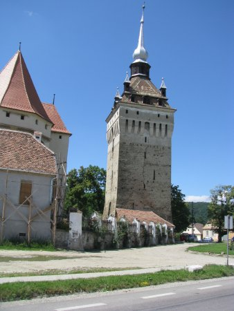 Saschiz, Romanya: Saxon Church #3