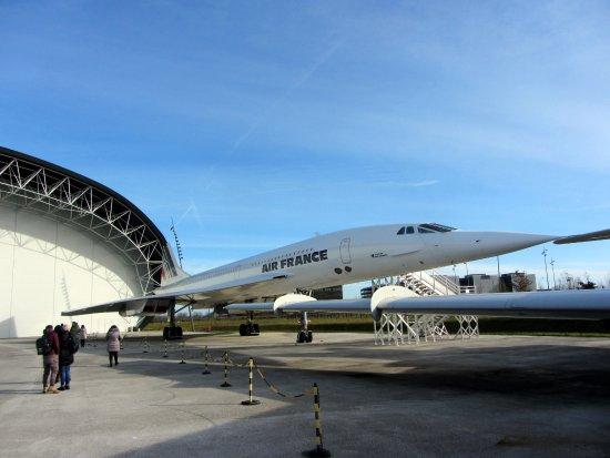Blagnac, ฝรั่งเศส: Concorde outdoor