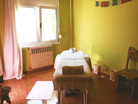 "Kalathas, Greece: The ""oils"" massage therapy room."